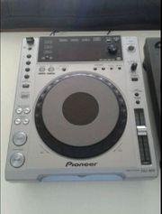 Pioneer CDJ 850 Silber Wie