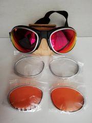 SKI Brille mit 3 Doppel