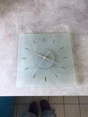 Wanduhr Uhr Glas