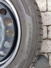 Sommerräder 205 55R16V Michelin Dunlop