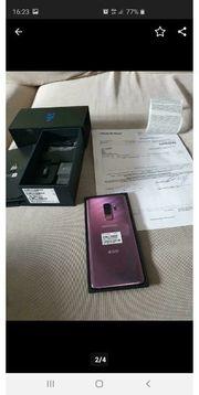 Samsung Galaxy S9 Neuwertig