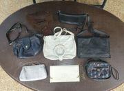 Konvolut Damen Handtaschen schöne Leder
