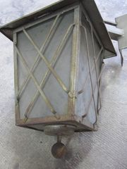Lampe Außenlampe Antik Antiquität