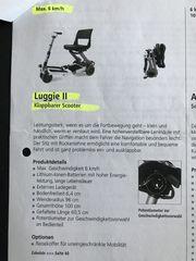 Elektromobil für Senioren Scooter Luggie