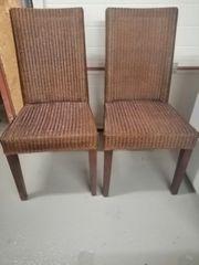 Rattan Stühle 2 Stück Top