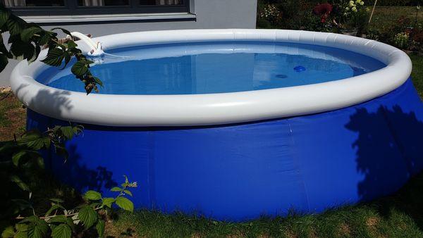 Swimmingpool 420 cm zu verkaufen