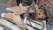 Schere für Minibagger 4-6 Tonnen