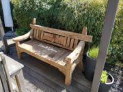 Gartenbank Bank Gartenmöbel Teak Holz