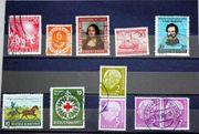 Briefmarken BRD 1949-1959 Einzelmarken und