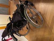 Leichtgewicht-Rollstuhl mit Postionierungshilfe