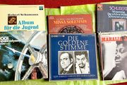 Schallplatten großteils Klassik sonst Filmmusik