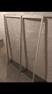 Duschtrennwand aus Glas Aufsatz für