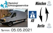 München Berlin Spedition Beiladung Transport