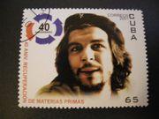 Briefmarke mit Che Guevara Motiv