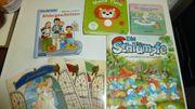 7 sehr gut erhaltene Kinderbücher