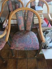 6 Stühle kurzfristig verfügbar