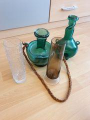 verschiedene Vasen Retro Vintage