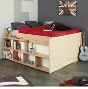 Bett mit viel Stauraum Matratze