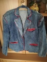 Herren Jeans-Jacke