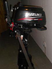Neuwertiger 6 PS Suzuki Langschaft