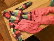 Ski Jacke und Hose Grösse