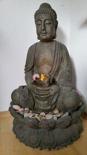 Buddha Brunnen mit Beleuchtung ca