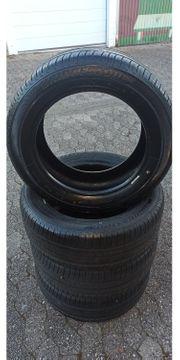 4 Neuwertige 205-55-16-91V Bridgestone Sommerreifen