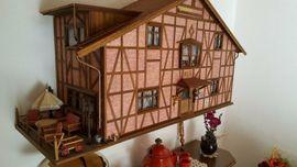 Puppen - Puppenhaus Puppenstube 5 Zimmer Möbel