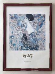 Kunstdruck Gustav Klimt mit edlem