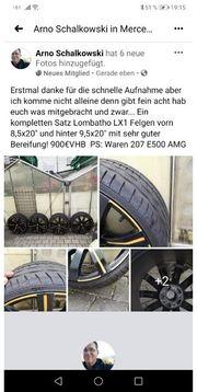 Mercedes Benz Lombatho Alu Felgen