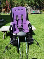 Römer Jocky Relax Fahrradsitz violett