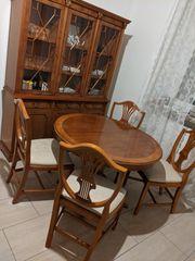 Küche komplett Esstisch mit Stühlen