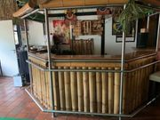 Cocktailbar Tresen Theke Bar Bambusbar