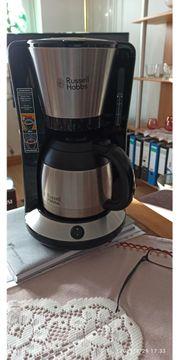 Kaffeemaschine Rossel Hobbs mit Tragetasche