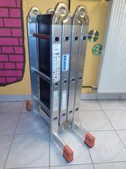 Krause MultiMatic Gelenk-UniversalLeiter 4x3 Sprossen
