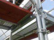 Neu 102m² Gerüst PL70 Fassadengerüst