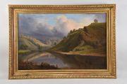Gemälde Landschaft Gustav oder Gottfried