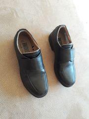Kommunionschuhe Schuhe schwarz zum Anzug