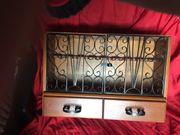 Pfeifen Schrank aus Holz 30
