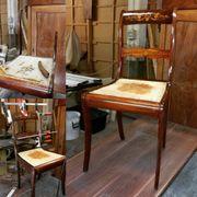 Antiquitäten Restaurierung Aufbereitung Schellack Aufpoliert