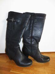 Stiefel schwarz Gr 38