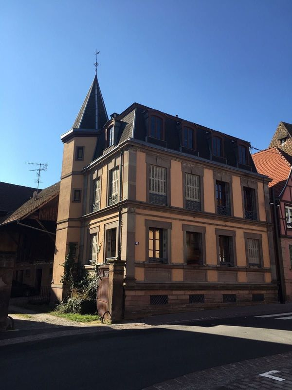 Ferienwohnung Gutshaus Typischen elsässichen Dorf