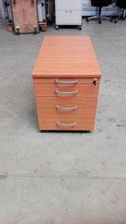 Rollcontainer mit Schubladen Bürocontainer Stauraum