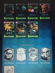 Clash Royale Account Level 10