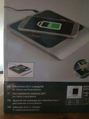 2in1 Qi Ladegerät Wireless induktiv