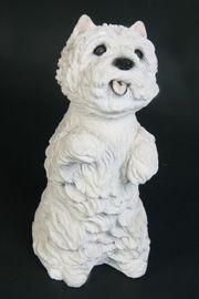 Deko Tierfigur Hund Westie Westhighland