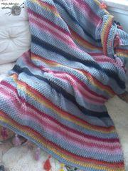 Decke Handgemacht