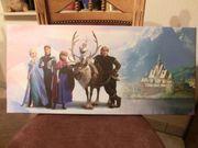 EISKÖNIGIN großes Keilrahmenbild Wandbild 70x