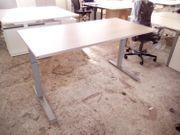 Schreibtisch akazie FM Büromöbel Bürotisch