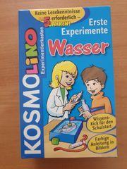 KOSMOS Erste Experimente Wasser Experimentierkasten